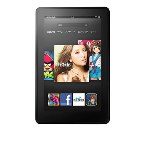 Kindle Fire タブレット(第2世代)