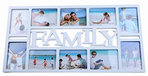 FAMILYデザインのフォトスタンドで孫の写真が飾れる人気のギフト