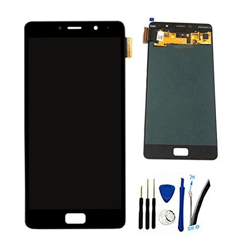 修理並びに交換LCD液晶ディスプレイとタッチパネルデジタイザアセンブリ UMI MAX F-550028X2N-C (黑 (F-550028X2N-C))