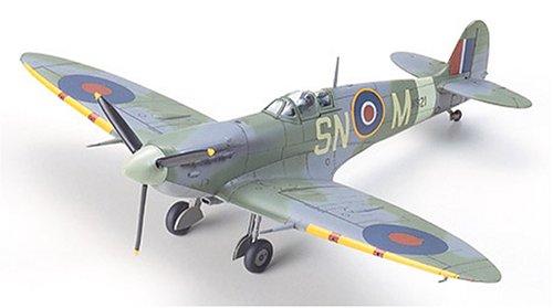タミヤ 1/72 ウォーバードコレクション No.56 イギリス空軍 スーパーマリン スピットファイア Mk.Vb/Mk.Vb TROP プラモデル 60756