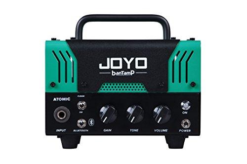 【国内正規品】JOYO ジョーヨー banTamP ATOMIC(グリーン)20W 2チャンネル チューブアンプヘッド 【440g~】超小型アンプ特集!小さく持ち運びも楽で良い音のする安い小型ヘッドアンプ!