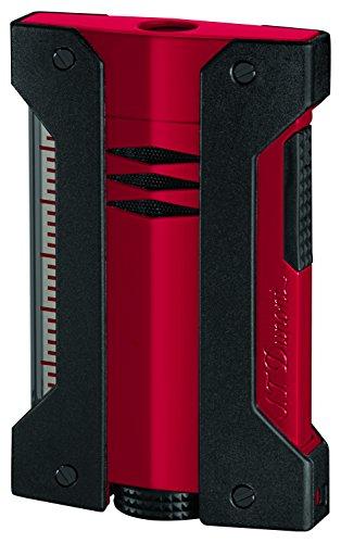 S.T.Dupont (エス・テー・デュポン) ライター 021402 デフィ エクストリーム(DEFI EXTREME) ターボライター レッド×ブラック 赤 黒 [正規品]