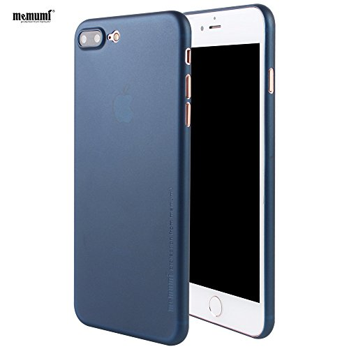 [Memumi] iphone7 Plus ケース 0.3㎜の スリム・薄型 防指紋 PP ケース アイフォン7 Plus ケース (ブルー)