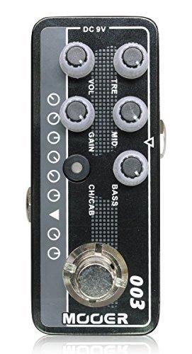 Mooer Micro Preamp 003 プリアンプ ギターエフェクター 【徹底解析】Mooer Micro Preamp  エフェクター のコピー元一覧! 元ネタはあの名アンプ!!【プリアンプ】