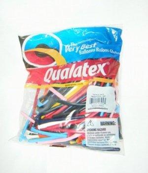 Quaratex balloonマジックバルーン260Qトラディショナルアソート[100本入り】【風船 バルーン】【マジックバルーン】 【ペンシルバルーン】【ツイストバルーン】【バルーンアート】【縁日】【お祭り】
