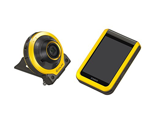 CASIO デジタルカメラ EXILIM EX-FR100YW カメラ部/モニター部分離 フリースタイルカメラ EXFR100 イエロー