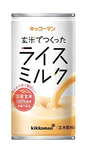 キッコーマン 玄米でつくったライスミルク 190g×30本