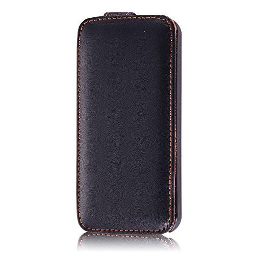 レイ・アウト iPhone SE/5s/5 フラップタイプ・レザージャケット/ブラックRT-P5LC1/B