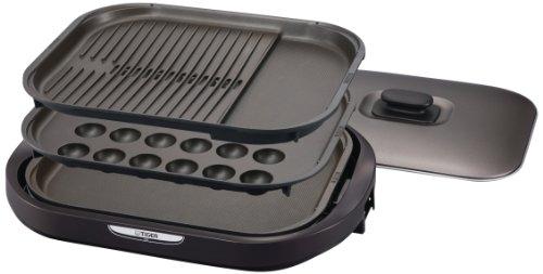 タイガーのホットプレートは1台で多種目使えるキッチン家電