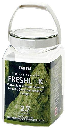 タケヤ化学工業(Takeyakagaku) フレッシュロック 角型 2.7L