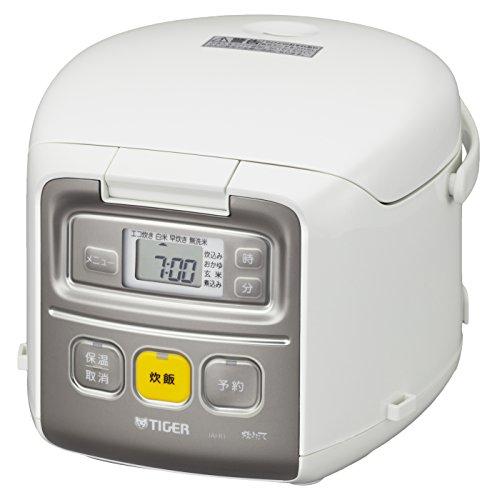 タイガー 炊飯器 マイコン 3合 ホワイト 炊きたて ミニ 炊飯 ジャー JAI-R551-W