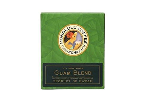 【休日はハワイ気分】HONOLULU COFFEE GUAM BLEND インスタントコーヒー 5袋入り [並行輸入品]