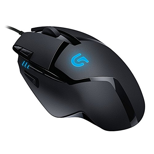 Logicool G ゲーミングマウス  G402 ブラック usb 有線 FPS  ゲームマウス 4段階DPI切り替えボタン RGB G40...