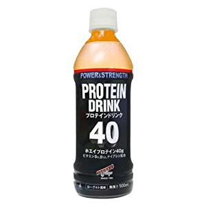 フィットネスショップ プロテインドリンク40 (500ml 24本入り) (ヨーグルト風味)