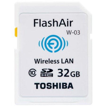 TOSHIBA(東芝) 無線LAN搭載SDHCカード FlashAir W-03 32GB Class10 SD-R032GR7AL03A 並行輸入品