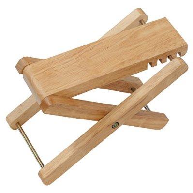 キクタニ ギター足台 木製 高さ調節 4段 GF-2