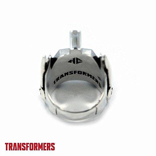 トランスフォーマー オプティマスプライム シルバー リング USサイズ11/日本サイズ23号相当