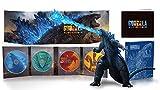 【Amazon.co.jp限定】ゴジラ キング・オブ・モンスターズ 完全数量限定生産4枚組 S.H.MonsterArts GODZILLA[2019] Poster Color Ver. 同梱(Amazon.co.jp限定:オリジナルA4クリアファイル付き) [Blu-ray]