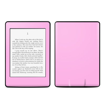 Amazon Kindle Paperwhite スキンシール【Solid State Pink】