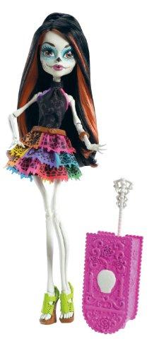 モンスターハイ トラベル スケアリス スケリータ・カラベラス ドール (Monster High Travel Scaris Skelita Calaveras Doll)【並行輸入品】