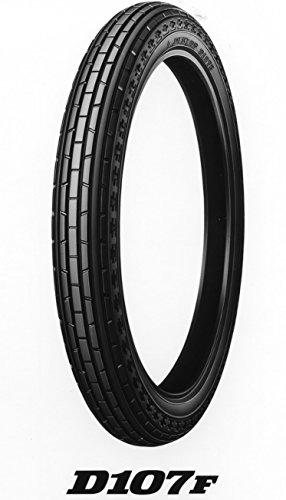 DUNLOP(ダンロップ)バイクタイヤ D107 フロント 2.50-14 32L チューブタイプ(WT) 268539 二輪 オートバイ用