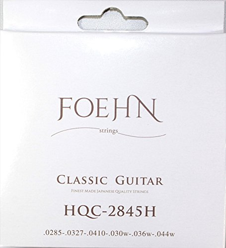 FOEHN HQC-2845H ×6セット Classic Guitar Strings High Tension クラシックギター弦 ハイテンション