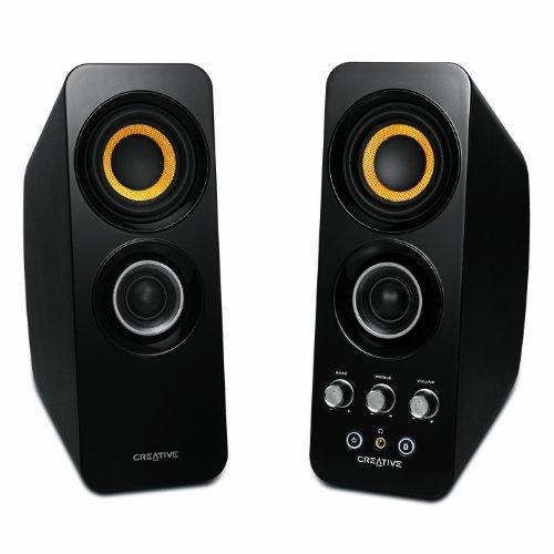 Creative NFC Bluetooth対応 2ch ワイヤレススピーカー T30 Wireless 【ファイナルファンタジーXIV: 新生エオルゼア Windows版 推奨】 SP-T30W