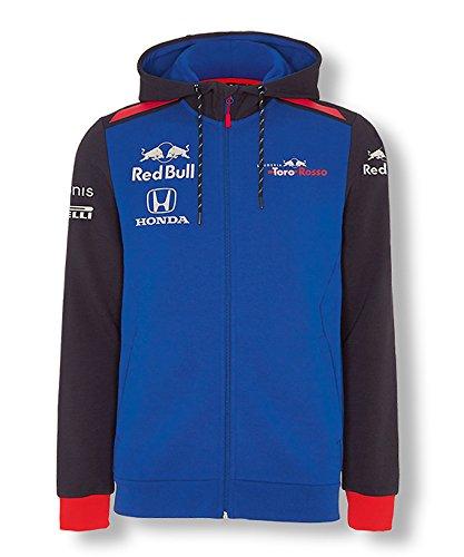 【 Toro Rosso 】 スクーデリア トロロッソ ホンダ F1 Racing Team 2018 オフィシャル レプリカ フーディー (M身幅50cm着丈70cm)