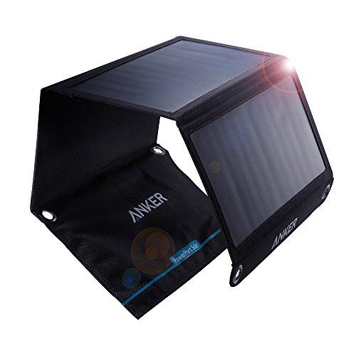 Anker PowerPort Solar (21W 2ポート USB ソーラーチャージャー) iPhone 6/6 Plus/iPad Air 2 / mini 3 / X...