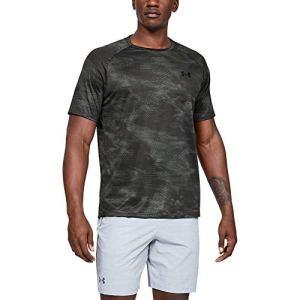[アンダーアーマー] テック 2.0 ショートスリーブ プリント(トレーニング/Tシャツ) 1328189 メンズ PCG/MGA 日本 SM (日本サイズS相当)