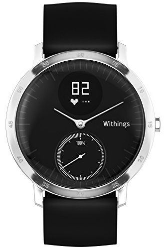 Withings Withings Steel HR 40mm ブラック 【日本正規代理店品】 HWA03-Black40-Asia
