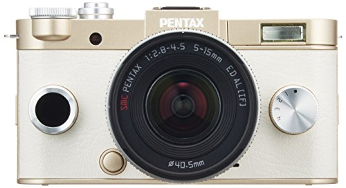 PENTAX ミラーレス一眼 Q-S1 ズームレンズキット 標準ズーム 02 STANDARD ZOOM ゴールド 06239