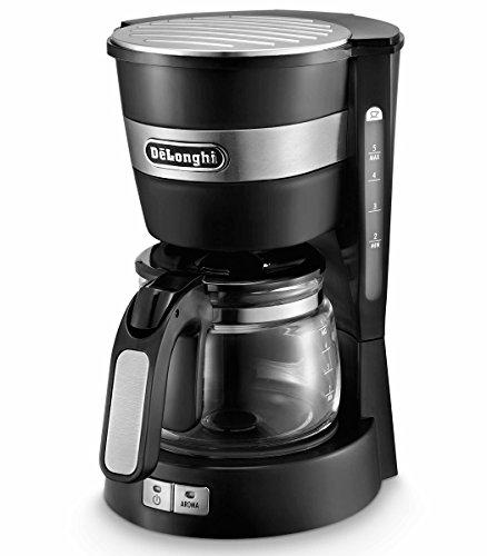 デロンギ コーヒーメーカー インテンスブラックDeLonghi アクティブ シリーズ ICM14011J