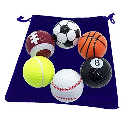ゴルフ好きの旦那に面白ボールを贈る