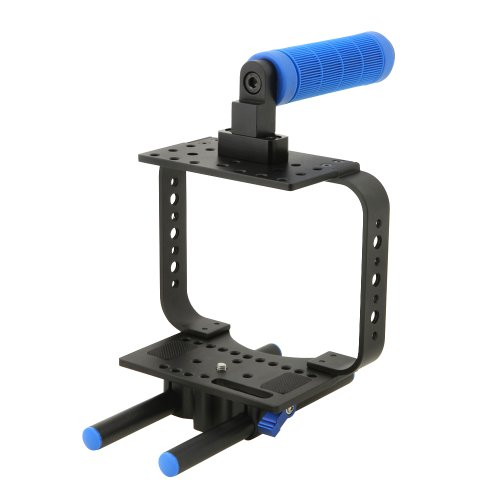 TARION® BMCC blackmagic cinema camera プロ 撮影キット カメラケージ+トップハンドル