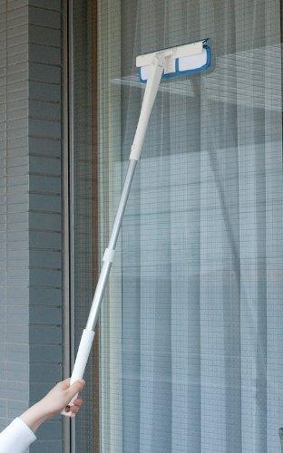 レック しぼれる 回転 窓みがき 伸縮 ( 窓洗い ・ 窓掃除 )