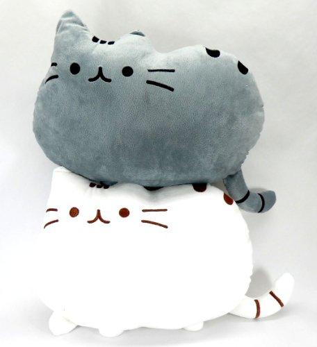 フワフワ 柔らか かわいい ネコ クッション 抱き枕 オフィス用にも 2個セット