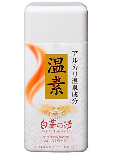 アース製薬 温素 入浴剤 白華の湯 600g
