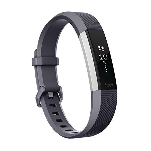 Fitbit フィットビット 心拍計 フィットネスリストバンド AltaHR 心拍 睡眠 健康管理 活動量計 アクティブトラッカー スマートブレスレット Blue Gray ブルー グレー Lサイズ 【日本正規品】 FB408SGYL-CJK