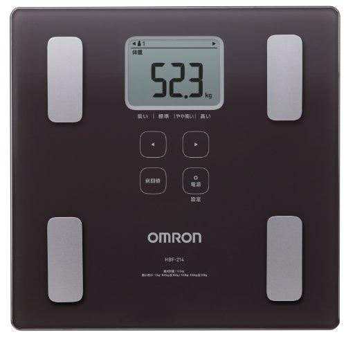 価格も安く機能も充実のomuronの体重計