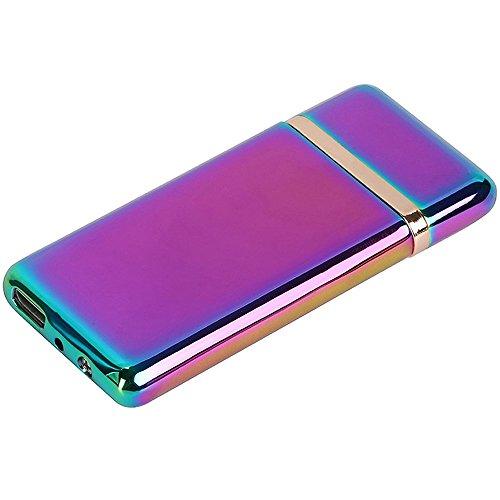 電子ライター 充電式 USB ライター 電熱線 熱線式ライター BLOOMoon 超薄型ライター