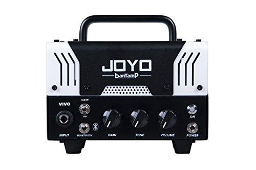 【国内正規品】JOYO ジョーヨー banTamp VIVO(ホワイト) 20W 2チャンネル チューブアンプヘッド 【440g~】超小型アンプ特集!小さく持ち運びも楽で良い音のする安い小型ヘッドアンプ!