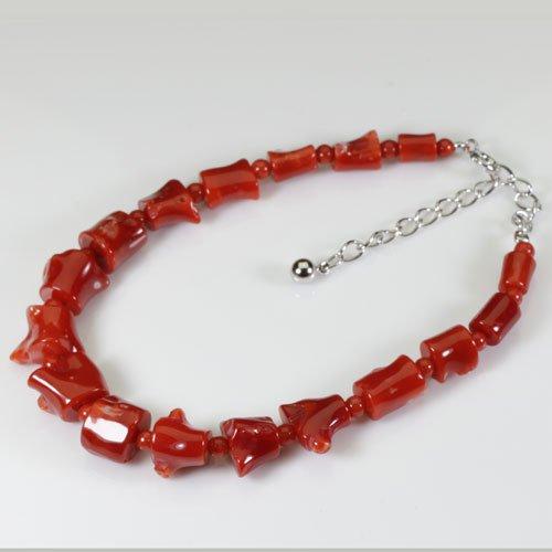血赤珊瑚 ブレスレット 枝 SANSUI