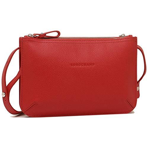 [ロンシャン]の赤いショルダーバッグ