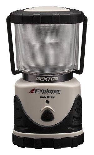 ジェントス LEDランタン エクスプローラー SOL-013C 停電時用 明かり 防災