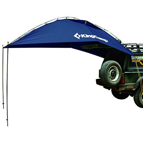 KingCamp タープ テント 車用 日よけテント 様々な車に対応 カーサイドタープ 単体使用可能 キャンプ テント 簡単設営 収納袋付き KT3086 (ブルー)