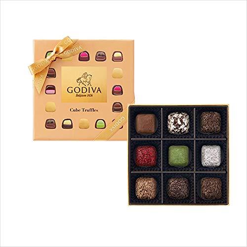 ゴディバ (GODIVA)キューブトリュフアソートメントをプレゼント