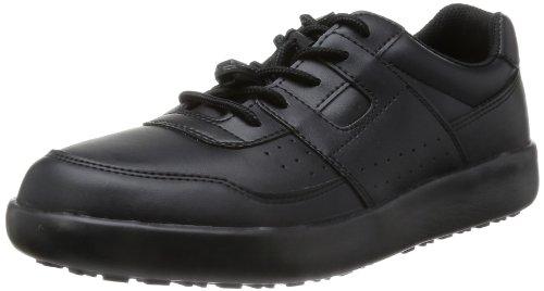 [ミドリ安全] 作業靴 耐滑 スニーカー H711N H711N ブラック(ブラック/26.5)