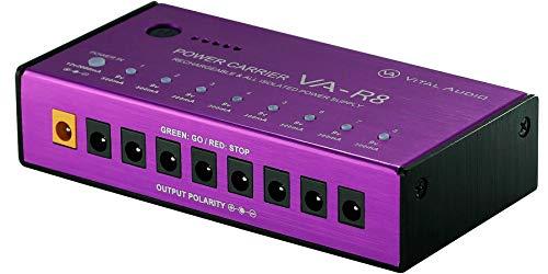 Vital Audio POWER CARRIER VA-R8 バッテリーパック内蔵エフェクトペダル用パワーサプライ