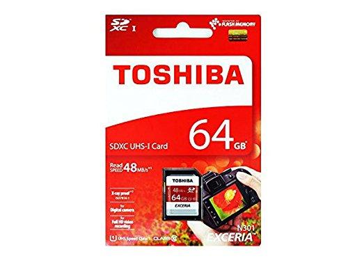 日本製のみ厳選!東芝 64GB【SDXCカードTHN-N301R0640A4】SD-K064GR7AR040Aの後継モデル